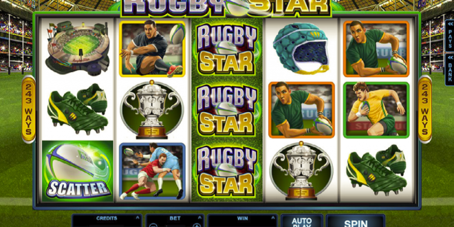 Try and Convert your Spin to a Jackpot Win On The New Rugby Star Slot